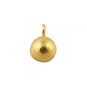 Αρχαϊκό σφυρήλατο μενταγιόν από χρυσό Κ18