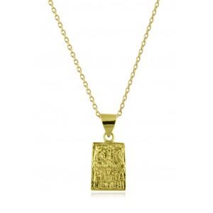 Μενταγιόν Κωνσταντινάτο από Χρυσό Κ14 δύο όψεων