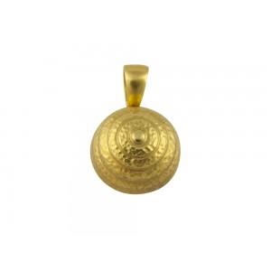Αρχαϊκό μενταγιόν σφυρήλατο από χρυσό Κ18