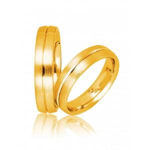 Βέρες Γάμου Χρυσές Στεργιάδης 731 Κ9 Κ14 ή Κ18 5.00 χιλ.